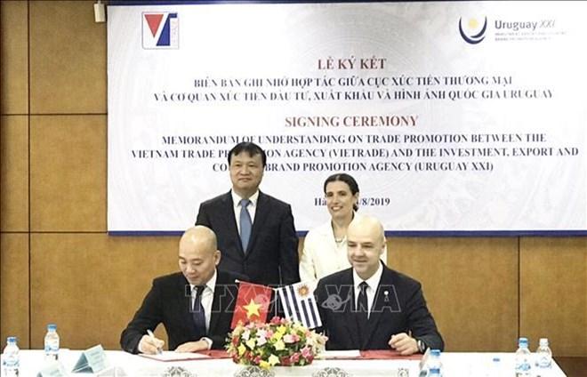 越南与乌拉圭加强贸易合作关系